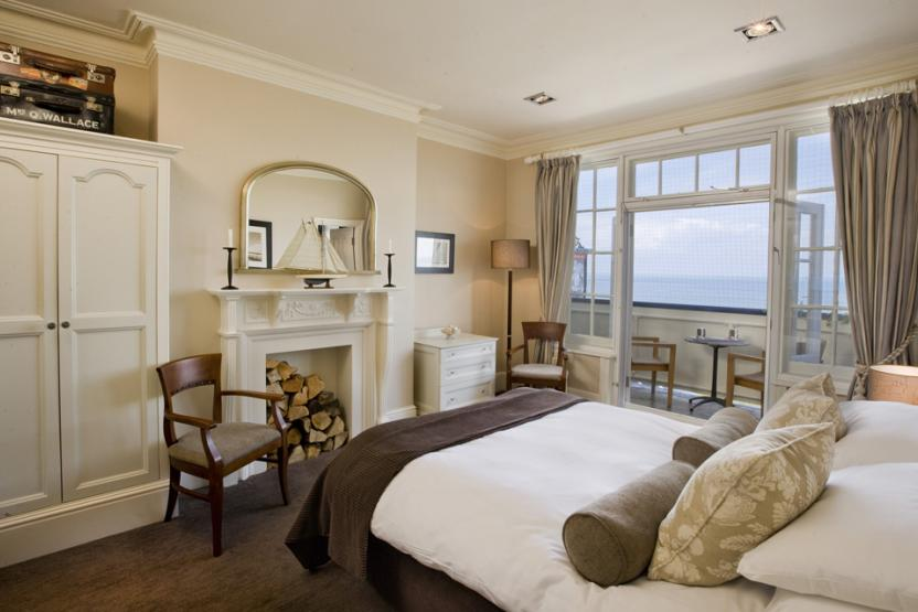 Marine Hotel Whitstable - Superior Sea View Room
